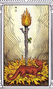 Alchemical Tarot - Ace of Fire